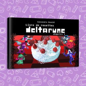 Gâteau, cookie, recette, cuisine, livre, book, pâtisserie, deltarune,