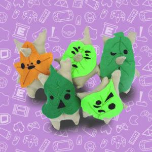 korok, peluche, fait-main, zelda, the legend of zelda, jeux vidéo, nintendo, goodie, unique, arbre, nature, link, mojo,