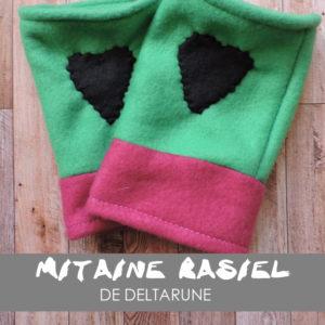 mitaine, gant, couture, coudre, tuto, tutoriel, DIY, Undertale, Deltarune, Rasiel, toby fox, création, accessoire, mode,