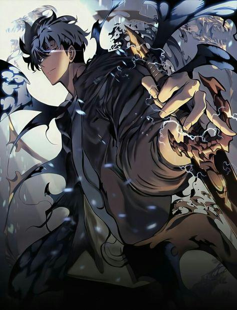 Solo Leveling, webtoon, comics, comic, bd, bande dessinée, coréen, chasseur, rang, portail, monstre, niveau, combat, ombre, evolution, heros,
