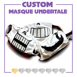 corona, cosplay, Covid, custom, customisation, deltarune, DIY, gaster, masque, papyrus, protection, sans, tissus, undertale, virus, visage