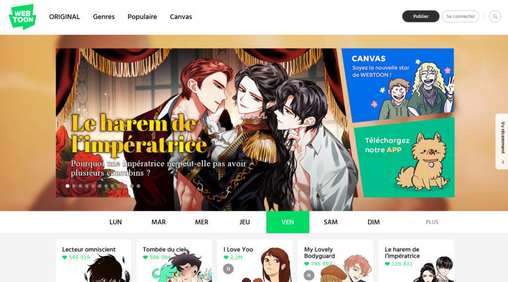 Webtoon, Verytoon, Delitoon, Yurai editions, manga, comic, webtoon, webcomic, BD, bande dessinée, coréen, site, liste, traduction, traduit, langue, asiatique, asie, auteur, dessinateur,