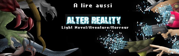 alter reality, horreur, monstre, roman, light novel, français, histoire, futur, combat, jeux vidéo