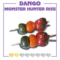 cuisine, dango, dango lapin, farine, friandise, gourmandise, japon, lapin, mochi, monster hunter, monster hunter rise, recette, Riz